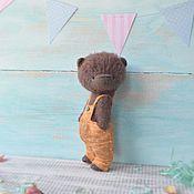 Куклы и игрушки ручной работы. Ярмарка Мастеров - ручная работа Мишка тедди Ерошка. Handmade.