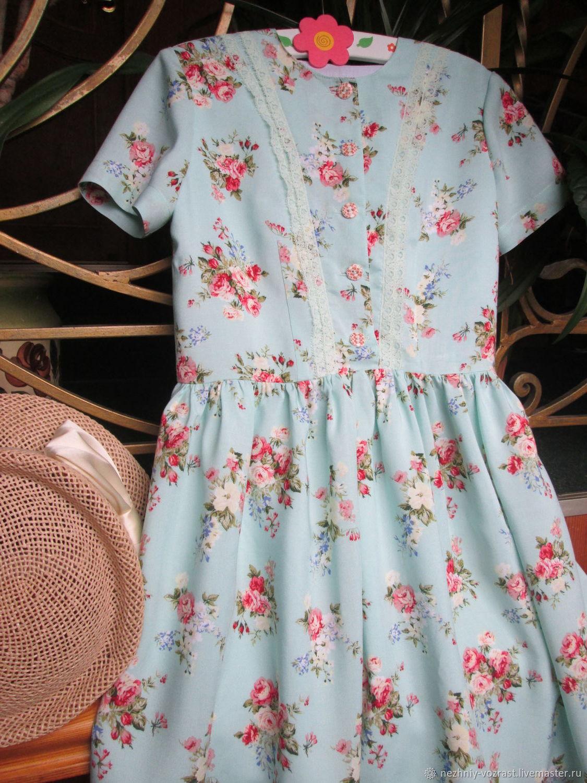 071d5f98f8 Clothes for Girls handmade. Livemaster - handmade. Buy ' Mint'.Shabby chic  ...