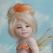 Куклы и игрушки ручной работы. Ярмарка Мастеров - ручная работа Авторская войлочная кукла Карамельная феечка. Handmade.