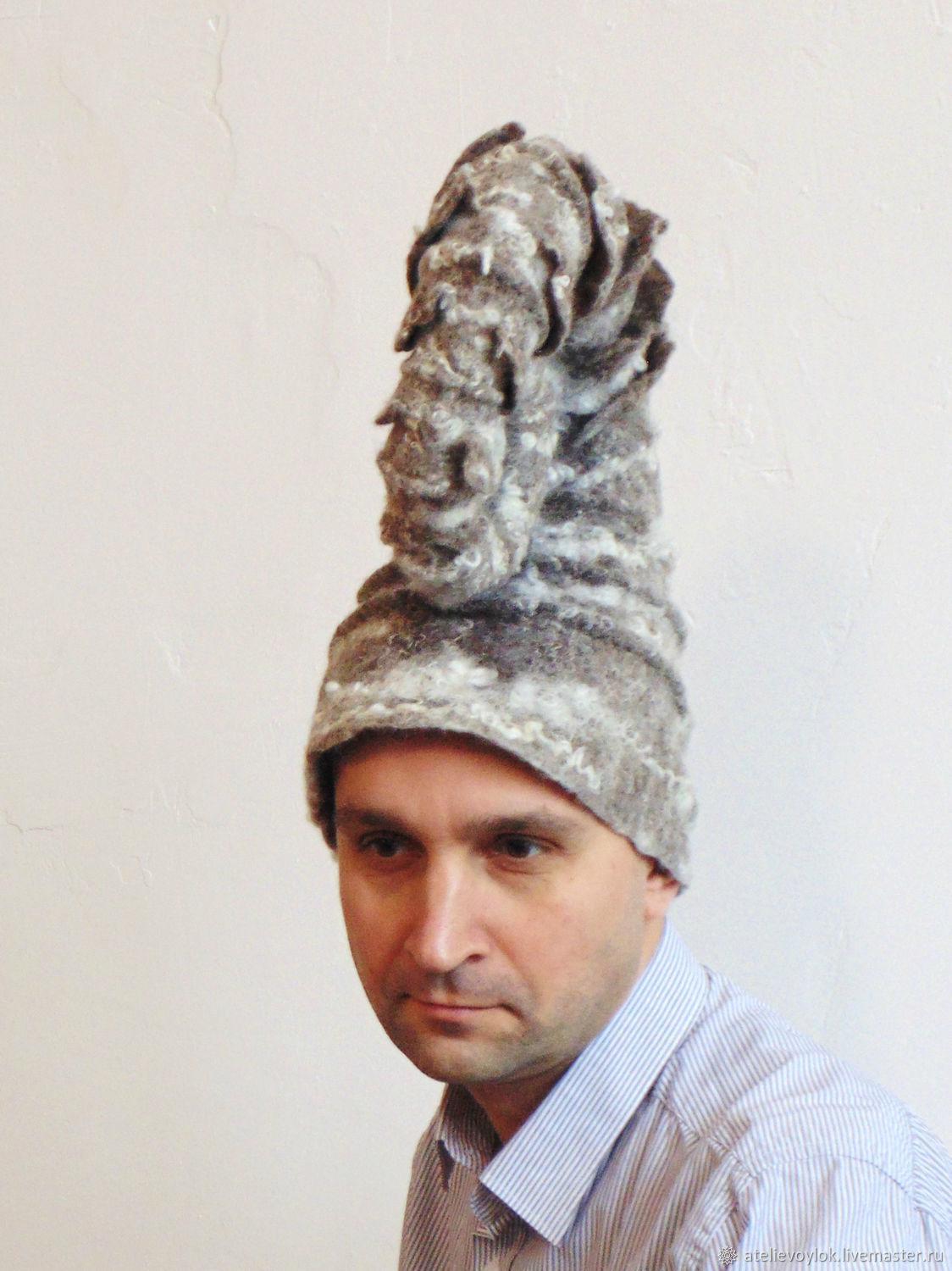 Hat-Ammonite, Subculture hats, Rostov-on-Don,  Фото №1