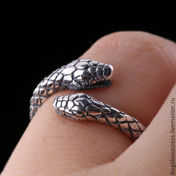 Silver ring with snakes dimensionless, Rings, Moscow,  Фото №1