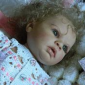 Куклы и игрушки ручной работы. Ярмарка Мастеров - ручная работа Кукла реборн Индра ( молд от Reva Schick). Handmade.