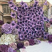 Витражи ручной работы. Ярмарка Мастеров - ручная работа Большой цветок из фоамирана. Handmade.