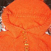 Аксессуары ручной работы. Ярмарка Мастеров - ручная работа капор-капюшон Лисичка. Handmade.
