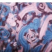 """Одежда ручной работы. Ярмарка Мастеров - ручная работа Стильный вязаный жилет ручной работы """"Вихри бохо"""". Handmade."""