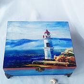 Для дома и интерьера handmade. Livemaster - original item box lighthouse. Handmade.