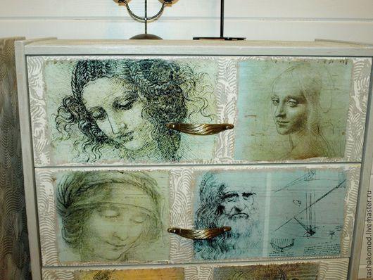 """Мебель ручной работы. Ярмарка Мастеров - ручная работа. Купить """"Леонардо да Винчи"""" Прикроватные тумбы-комоды.. Handmade. Мебель"""