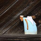 """Сувениры и подарки ручной работы. Ярмарка Мастеров - ручная работа Колокольчик """"Когда крылья в тягость"""". Handmade."""
