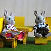 Куклы и игрушки ручной работы. Ярмарка Мастеров - ручная работа Кукольная мебель из дерева. Handmade.
