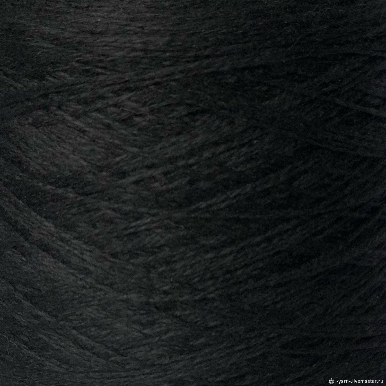 Пряжа Кашемир мохер CLAN черный – купить на Ярмарке Мастеров – NNYGYRU | Пряжа, Санкт-Петербург
