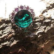 Украшения ручной работы. Ярмарка Мастеров - ручная работа кольцо 17 Королева (кварц аметист). Handmade.