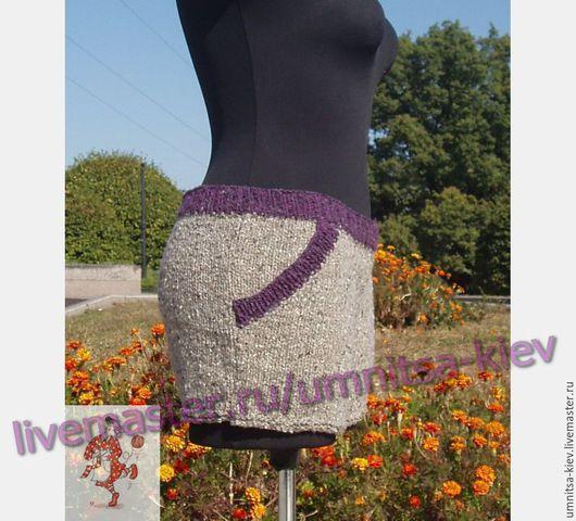 Фото: Вязаные короткие шорты «Жемчужинка» Вязаные шортики очень модная жемчужинка Вашего гардероба.