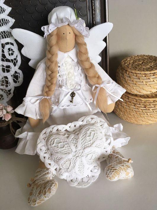 """Куклы Тильды ручной работы. Ярмарка Мастеров - ручная работа. Купить Сплюшка """" Нежность"""". Handmade. Сплюшка, ангел-хранитель"""