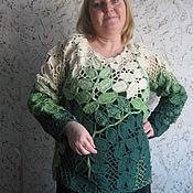"""Одежда ручной работы. Ярмарка Мастеров - ручная работа Кофта """"Листопад"""". Handmade."""