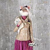 Куклы и игрушки ручной работы. Ярмарка Мастеров - ручная работа Фарфоровая Лиса. Handmade.