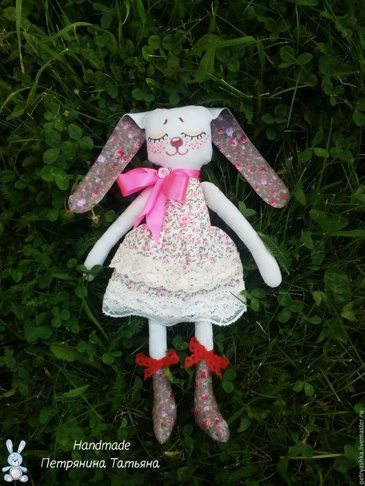 Текстильная Зайка ручной работы. Ярмарка Мастеров - ручная работа. Купить текстильную зайку Handmade от Петряниной Татьяны. Подарки для детей.
