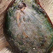 """Украшения ручной работы. Ярмарка Мастеров - ручная работа Кулон """"Невеста"""". Handmade."""