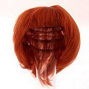 Материалы для творчества ручной работы. Ярмарка Мастеров - ручная работа волосы короткие рыжие. Handmade.