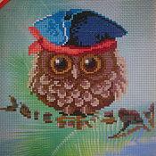 Картины и панно ручной работы. Ярмарка Мастеров - ручная работа Совенок летний. Пират.. Handmade.