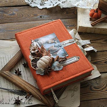 Stationery handmade. Livemaster - original item Book cooking