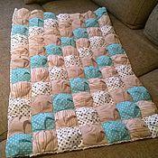 Для дома и интерьера ручной работы. Ярмарка Мастеров - ручная работа Детское одеяло лоскутное. Handmade.