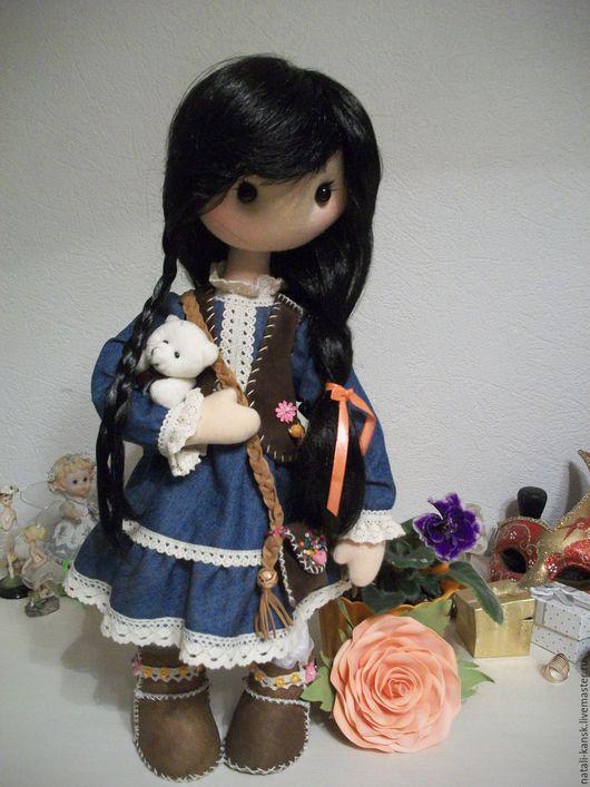 Коллекционные куклы ручной работы. Ярмарка Мастеров - ручная работа. Купить Интерьерная  текстильная кукла. Handmade. Кукла ручной работы