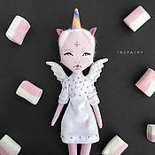 Куклы и игрушки ручной работы. Ярмарка Мастеров - ручная работа Текстильная кукла Единорог. Handmade.