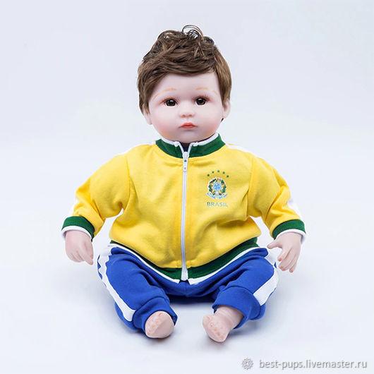 Кукла Reborn, футболист Бразилия (A), Куклы Reborn, Старый Оскол,  Фото №1