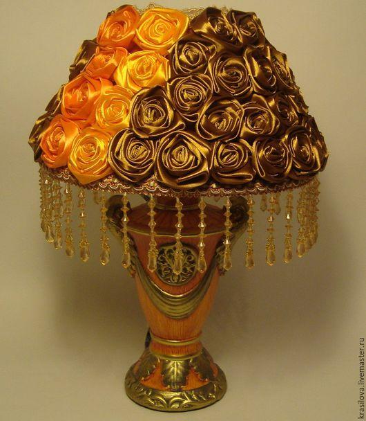 Освещение ручной работы. Ярмарка Мастеров - ручная работа. Купить Дизайнерский настольный светильник ( настольная лампа ). Handmade.