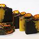 Мыло ручной работы. Ярмарка Мастеров - ручная работа. Купить Шоколадный мандарин. Handmade. Шоколадное мыло, подарок, кокосовое масло
