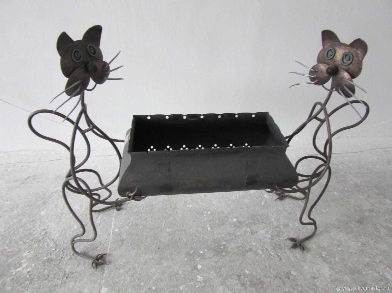 Мангал «Веселые коты», Камины, Таганрог,  Фото №1