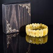 Украшения handmade. Livemaster - original item Bracelet Royal amber. Handmade.