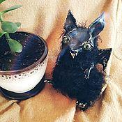 Мягкие игрушки ручной работы. Ярмарка Мастеров - ручная работа Дракончик Уголёк, авторская интерьерная игрушка ручной работы. Handmade.