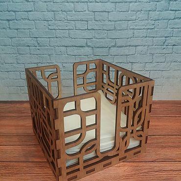 Для дома и интерьера ручной работы. Ярмарка Мастеров - ручная работа Салфетницы: Салфетница ажурная. Handmade.