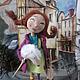 Куклы тыквоголовки ручной работы. Ярмарка Мастеров - ручная работа. Купить Пэппи Длинныйчулок продана. Handmade. Текстильная кукла