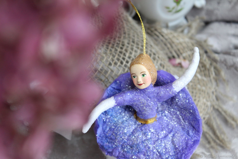 Ватная игрушка Балерина, Куклы и пупсы, Нижний Новгород,  Фото №1