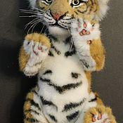 Куклы и игрушки handmade. Livemaster - original item Teddy The Tiger Cub. Handmade.