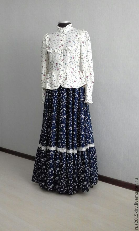 Этническая одежда ручной работы. Ярмарка Мастеров - ручная работа. Купить Костюм казачки. Handmade. Комбинированный, хлопок 100%