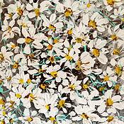 """Картины ручной работы. Ярмарка Мастеров - ручная работа """"Ромашковое поле""""Акрил.Холст 50х60. Handmade."""
