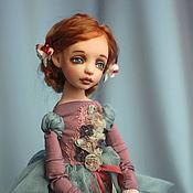 Куклы и игрушки ручной работы. Ярмарка Мастеров - ручная работа Подвижная кукла Текля. Handmade.