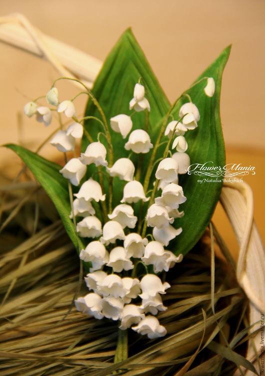 """Броши ручной работы. Ярмарка Мастеров - ручная работа. Купить """"ЛИКИ ВЕСНЫ"""". Handmade. Белый, весна, шелковые цветы"""