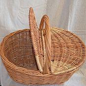 Для дома и интерьера handmade. Livemaster - original item Basket of vines