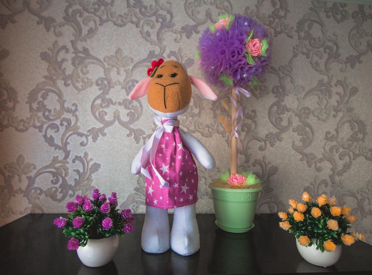 Мягкая игрушка Овечка, Мягкие игрушки, Санкт-Петербург,  Фото №1