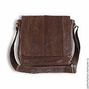 Сумки и аксессуары handmade. Livemaster - original item Men`s Python PATRIS bag. Handmade.