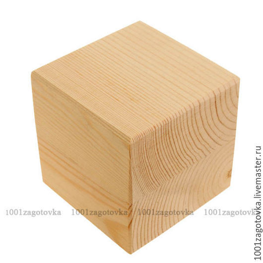 Декупаж и роспись ручной работы. Ярмарка Мастеров - ручная работа. Купить k0001.9 Кубик из массива (большой). Handmade.