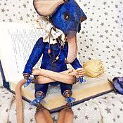 Куклы и игрушки ручной работы. Ярмарка Мастеров - ручная работа Голубых кровей крыса текстильная. Handmade.