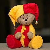 Куклы и игрушки ручной работы. Ярмарка Мастеров - ручная работа Мишка Клоун. Handmade.