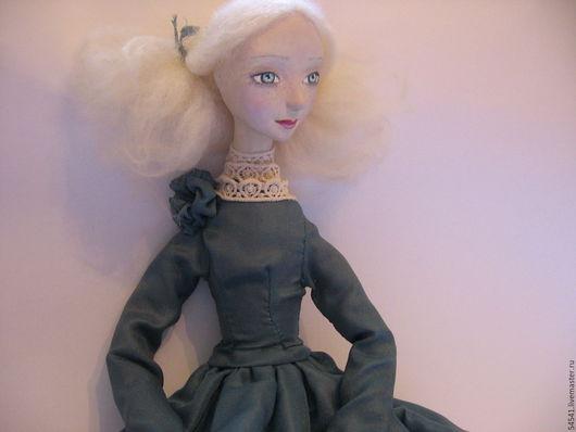 Коллекционные куклы ручной работы. Ярмарка Мастеров - ручная работа. Купить Инна. Handmade. Морская волна, кукла, хендмейд, шерсть