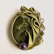 Украшения handmade. Livemaster - original item Brooch Violetta. Handmade.