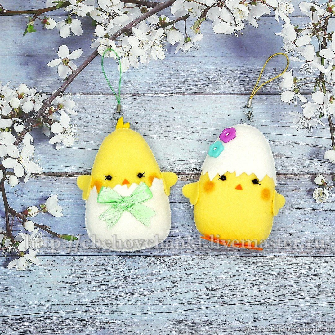Easter Chicks. Gift for Easter, Easter souvenirs, Chekhov,  Фото №1